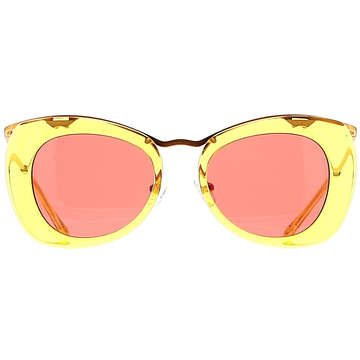Dries Van Noten DVN193 C3 Sun Mustard/ Antique Yellow Gold/ Wine