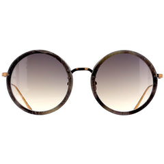 Linda Farrow Luxe LFL239 C50 Sun Grey Marble/ Rose Gold/ Grey Gradient
