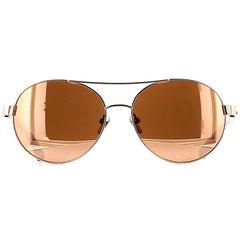 Linda Farrow Luxe LFL559 C3 Sun Rose Gold/ Ash Wood/ Rose Gold