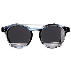 Linda Farrow Luxe LFL569 C6 Optical Colbalt/ White Gold/ Platinum