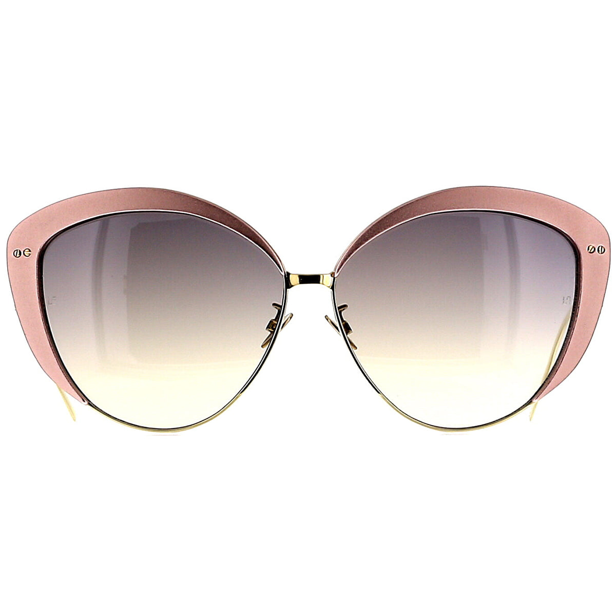 Linda Farrow Luxe LFL579 C4 Sun Pink Aluminum/ Light Gold/ Grey Gradient