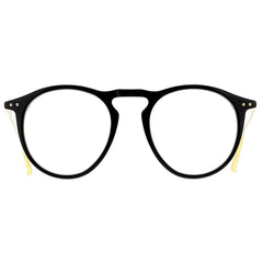 Linda Farrow Luxe LFL608 C1 Optical Black/ Yellow Gold