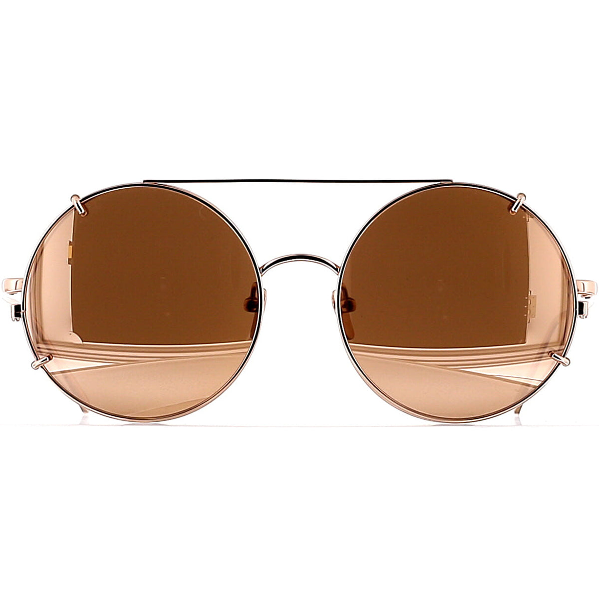 Linda Farrow Luxe LFL647 C3 Optical Rose Gold/ Rose Gold