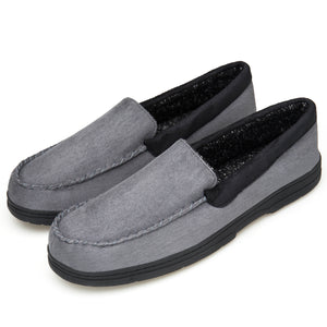 Men's Loafers Suede Leather Slip-On Moccasins Driving Shoes Boat shoes