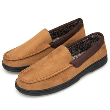 Load image into Gallery viewer, Men's Loafers Suede Leather Slip-On Moccasins Driving Shoes Boat shoes