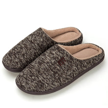 Load image into Gallery viewer, EAST LANDER Men's Memory Foam House Slippers Soft Sole Anti-Slip Slippers Indoor Shoes