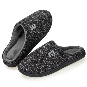 EAST LANDER Women's Memory Foam House Slippers Soft Sole Anti-Slip Slippers Indoor Shoes