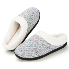 Load image into Gallery viewer, EAST LANDER Women's Memory Foam House Slippers Washable Anti-Slip Slippers Indoor Shoes