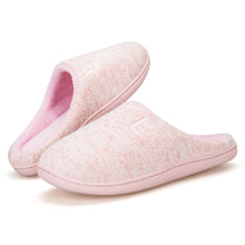 Load image into Gallery viewer, EAST LANDER Women's Memory Foam House Slippers Soft Sole Anti-Slip Slippers Indoor Shoes