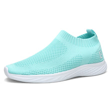 Load image into Gallery viewer, EAST LANDER Walking Shoes for Men and Women Slip-on Sneakers Flyknit Light Athletic Shoes