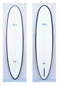 Custom Hull by DMZ Surfboards - SOLD