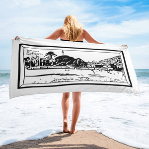 DMZ Malibu Towel