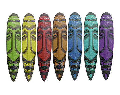 Multicolor Stoked - Art Print