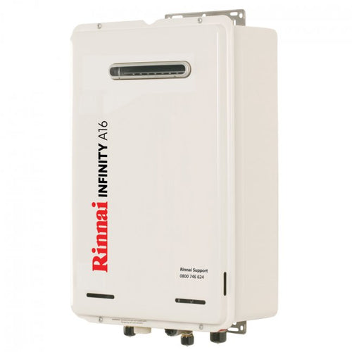 Rinnai A16 Infinity Continuous Flow Hot Water System