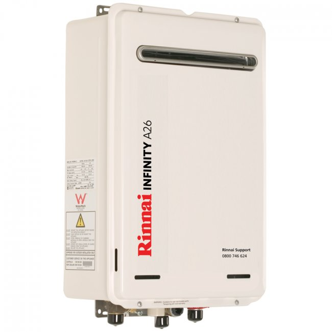 Rinnai A26 Continuous Flow Hot Water Unit