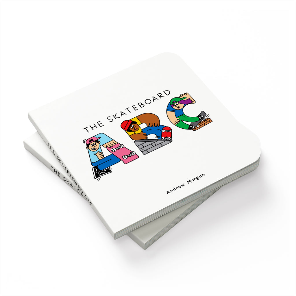 Skateboard ABC Board Book - The Andy $hop