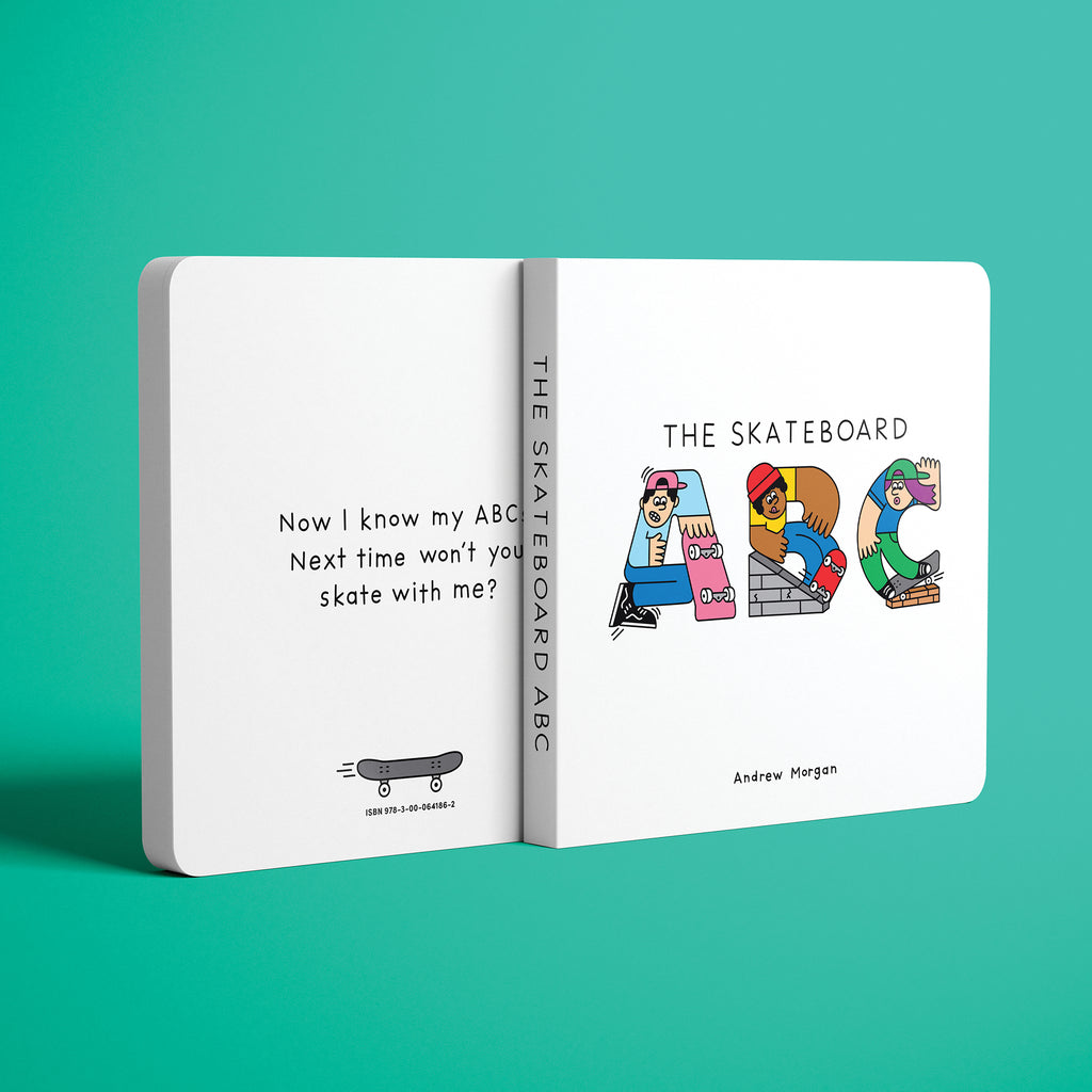 Skateboard ABC Board Book - The Andy Shop