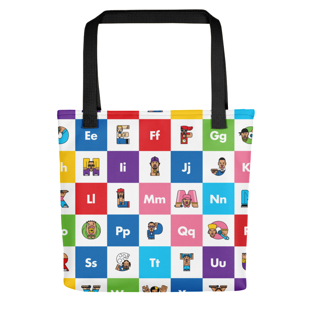 Rap ABC Tote Bag - The Andy $hop