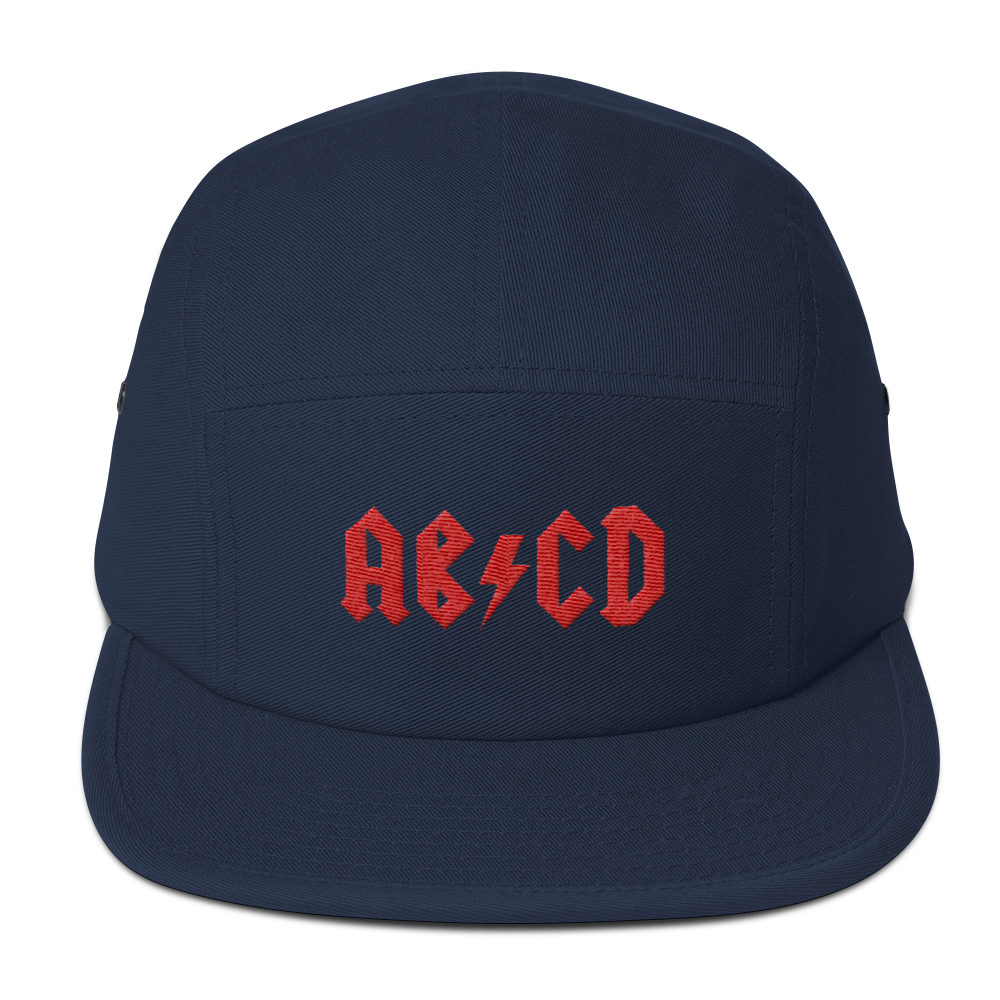 Rock ABC Five Panel Cap - The Andy $hop