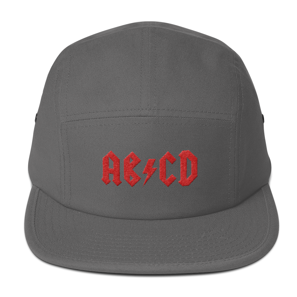 Rock ABC Five Panel Cap - The Andy Shop