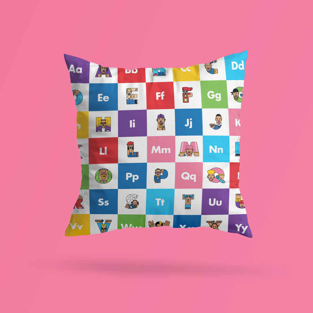 Rap ABC Pattern Premium Pillow - The Andy Shop