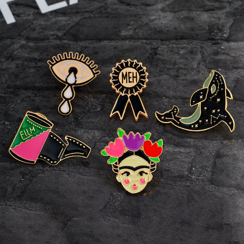 High Quality Artistic Assortment Enamel Pins - Mystic Sugar