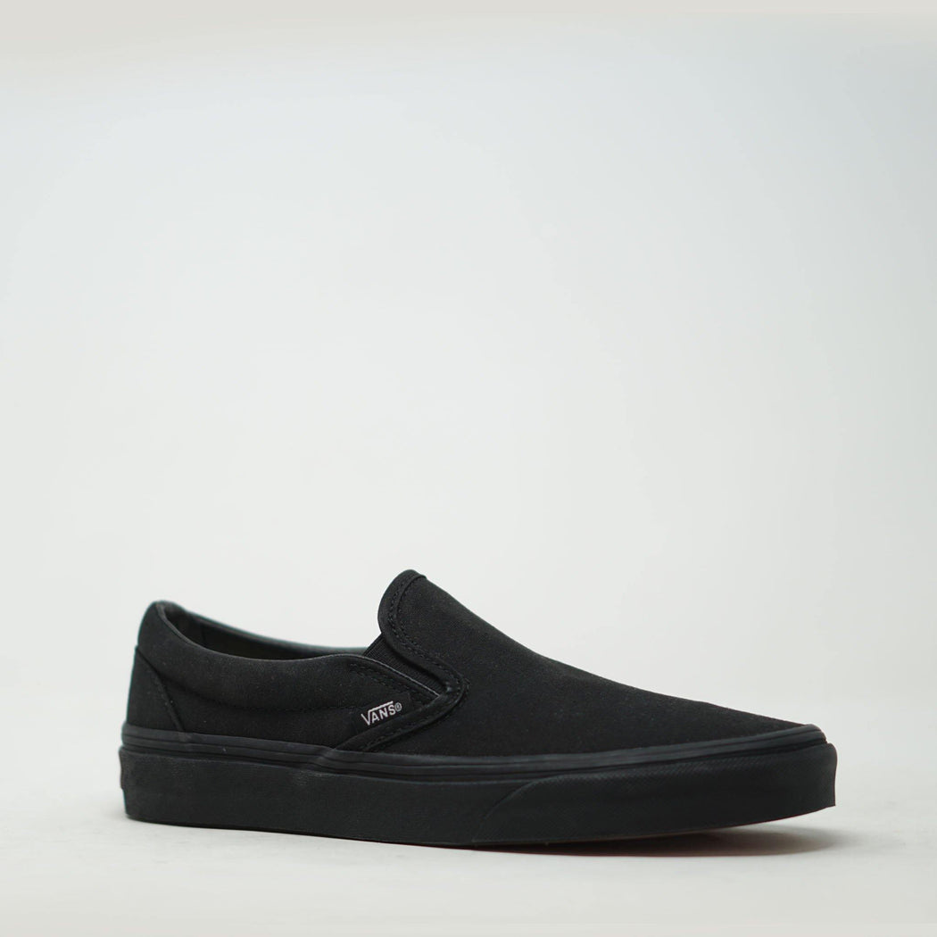 Vans Slip on Black Mono