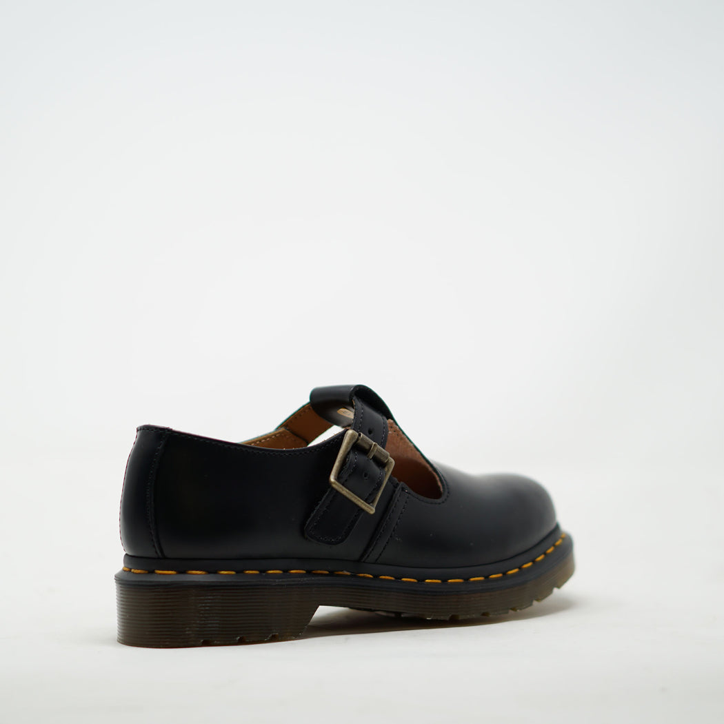 Dr Marten Polley Black Smooth