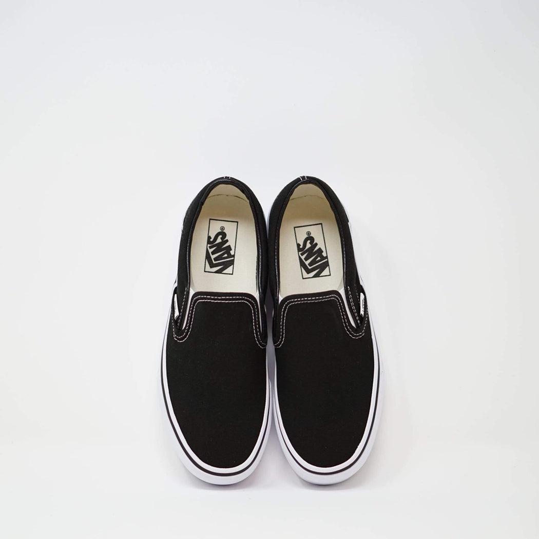 Vans Slip On Black - ZIGZAG Footwear