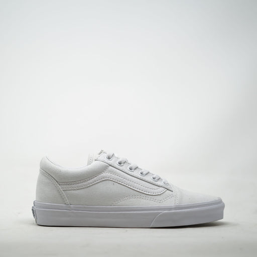 Vans Old Skool White Mono Canvas