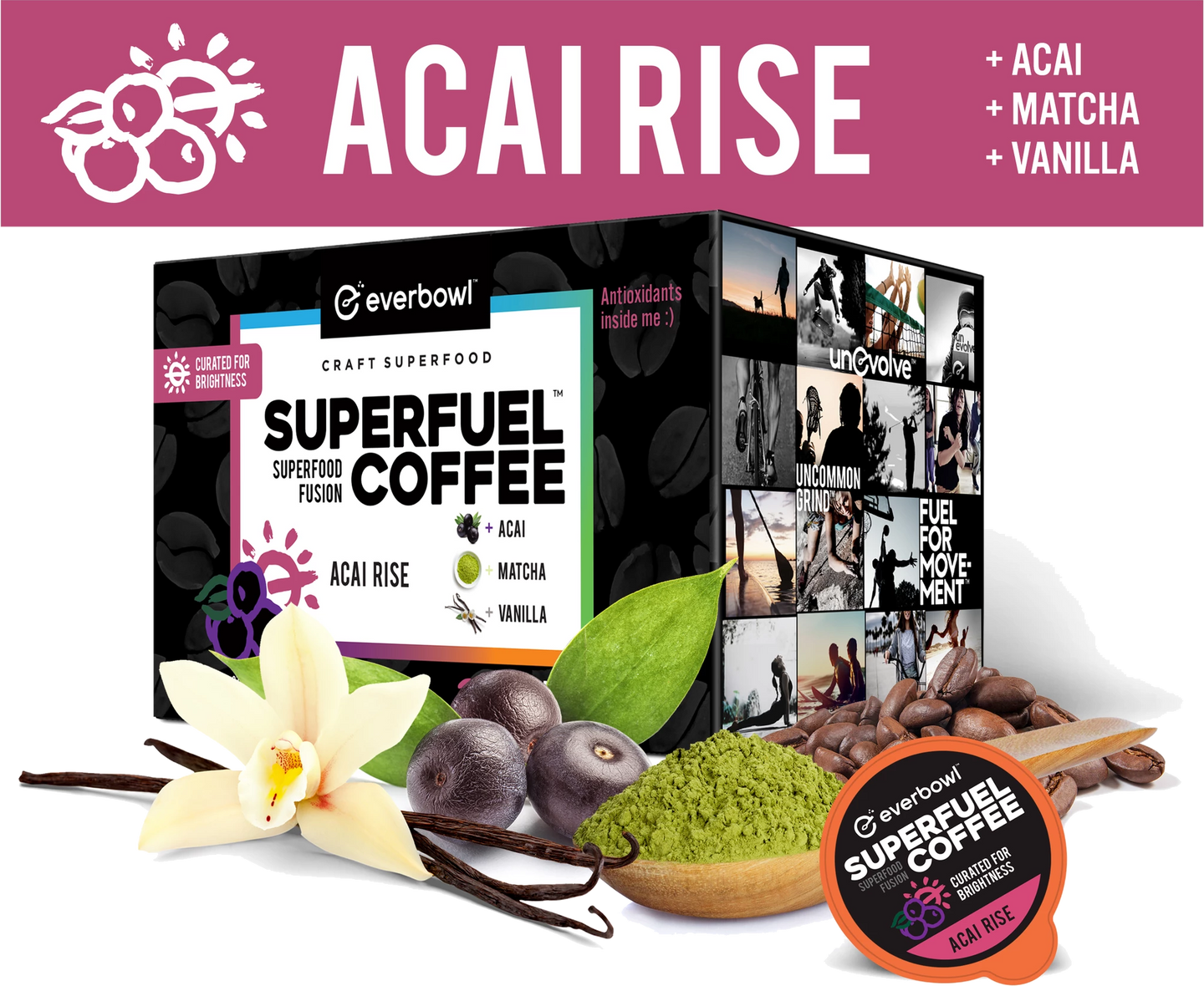 ACAI RISE™ 6 - Case Super Pack