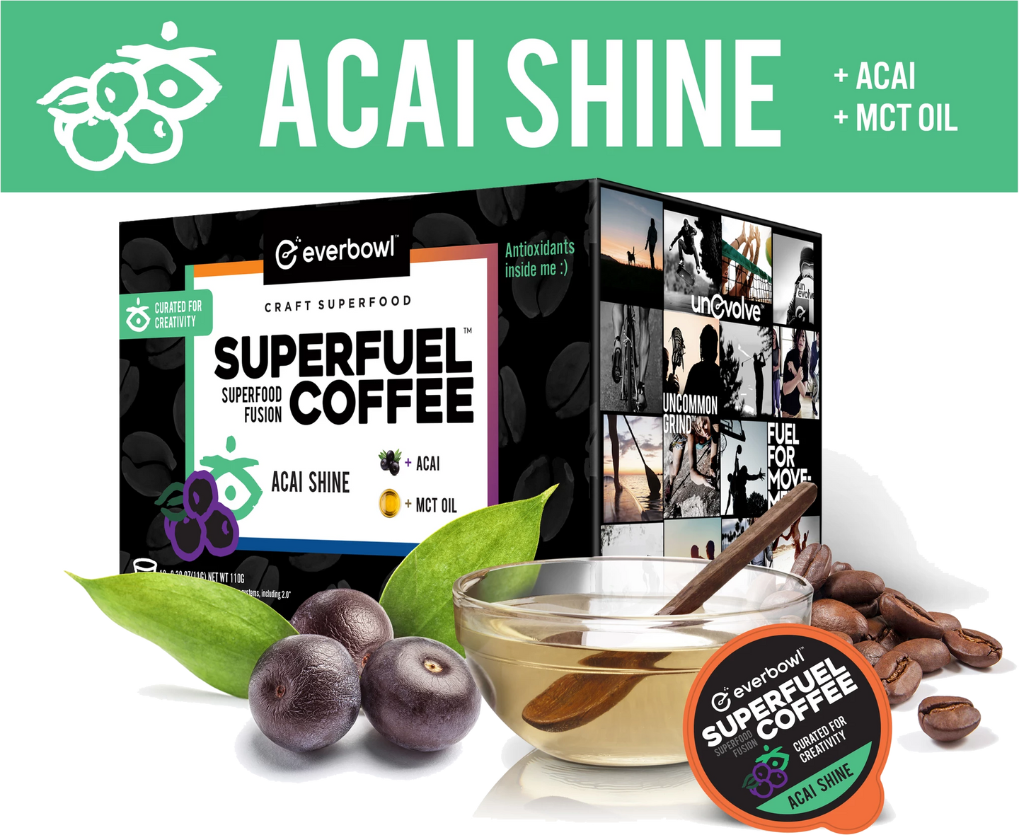 ACAI SHINE™ 6 - Case Super Pack