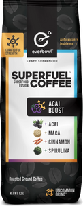 ACAI BOOST™ 12oz Bag of Premium Coffee Grounds