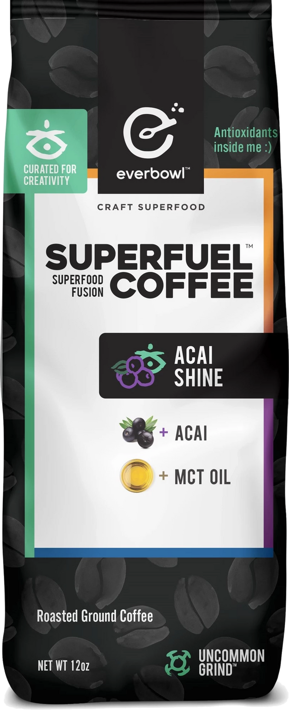 ACAI SHINE™ 12oz Bag of Premium Coffee Grounds