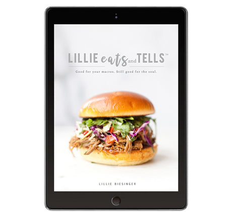 Lillie Eats and Tells Cookbook-- Digital Download Only