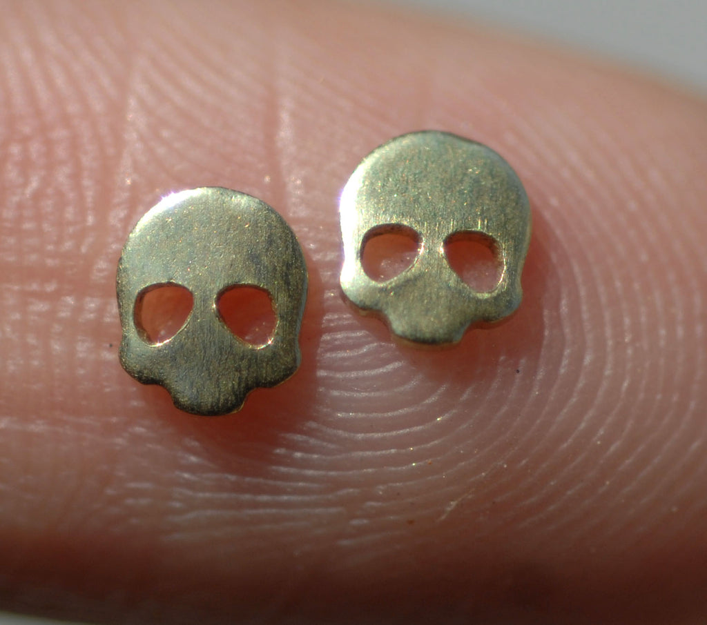 Most Tiny Metal Top Skull Mini Blanks