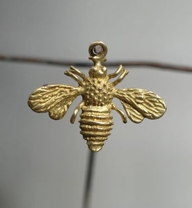 Cast Bronze Bee Charm