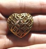 Cast Bronze Heart #1