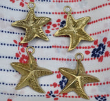 Buy Cast Bronze Starfish Charm #2 online