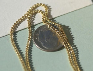 Cuban Bronze Chain - Soldered