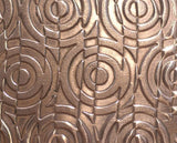 Buy Geometric Circles Textured Sheet Metal for Jewelry Making by SupplyDiva online