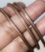 Bracelet or Ring Stock - Geometric Honeycomb - 3mm x 2mm