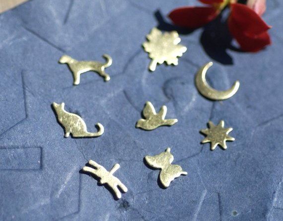 Buy Animals and Nature Set of Most Tiny Mini Shapes Blanks online