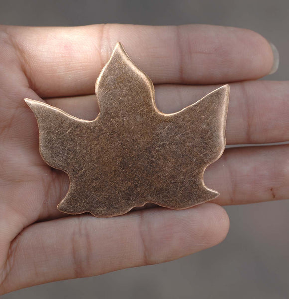 Buy Maple Leaf for Enameling Stamping Texturing Blanks- Variety of Metals online