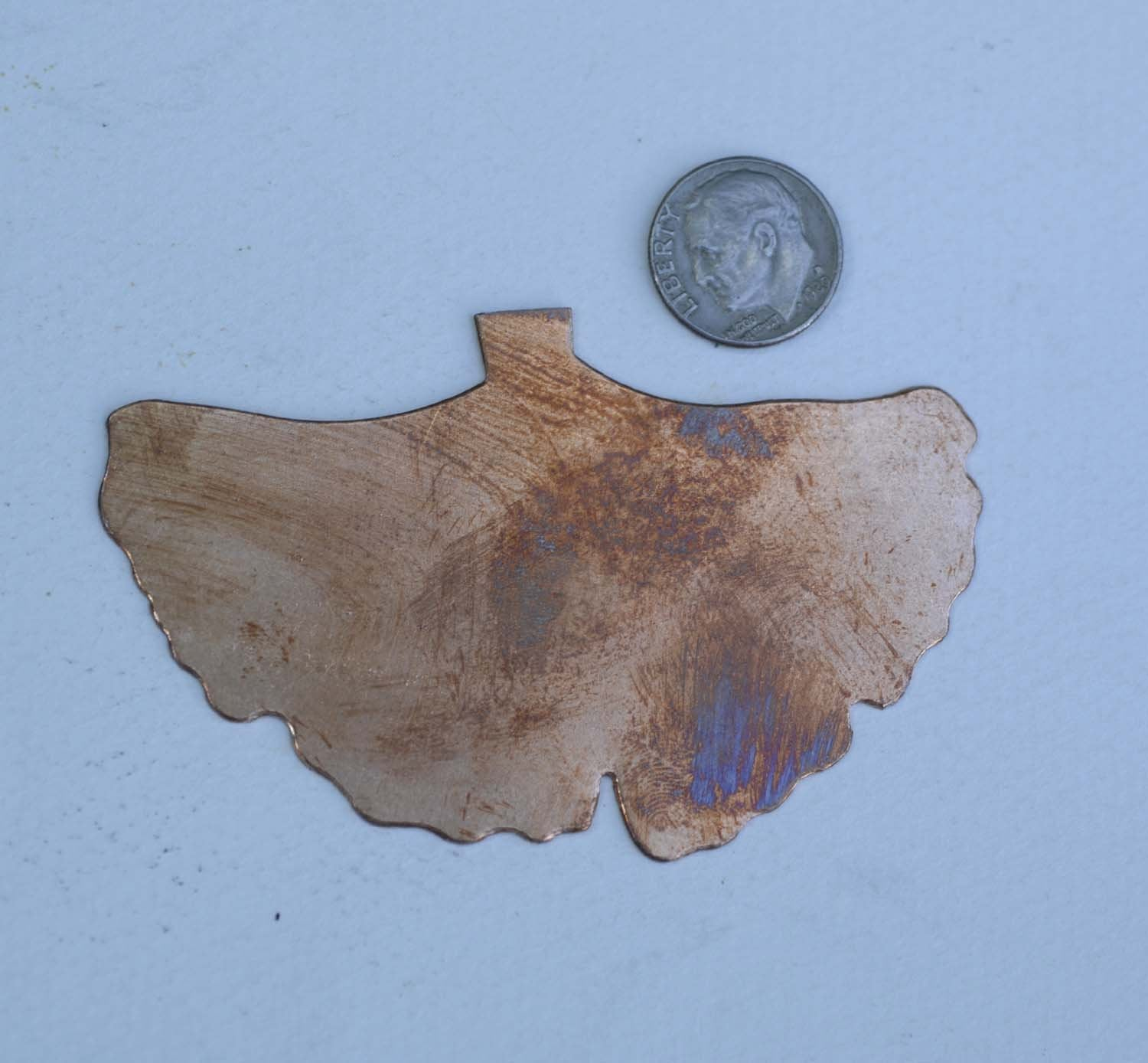 Buy Large Ginkgo Leaf, for Enameling Stamping Texturing Blanks- Variety of Metals online