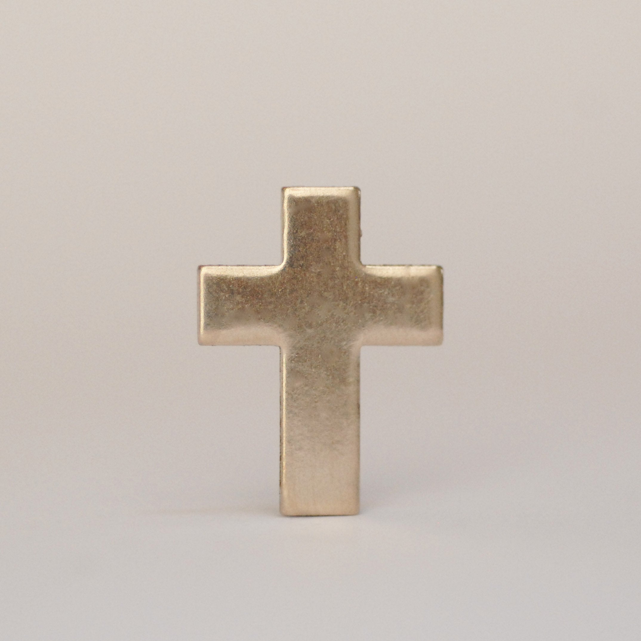 Simple Cross Shape metal blanks 18mm x 14mm for making jewelry, pendants and earrings