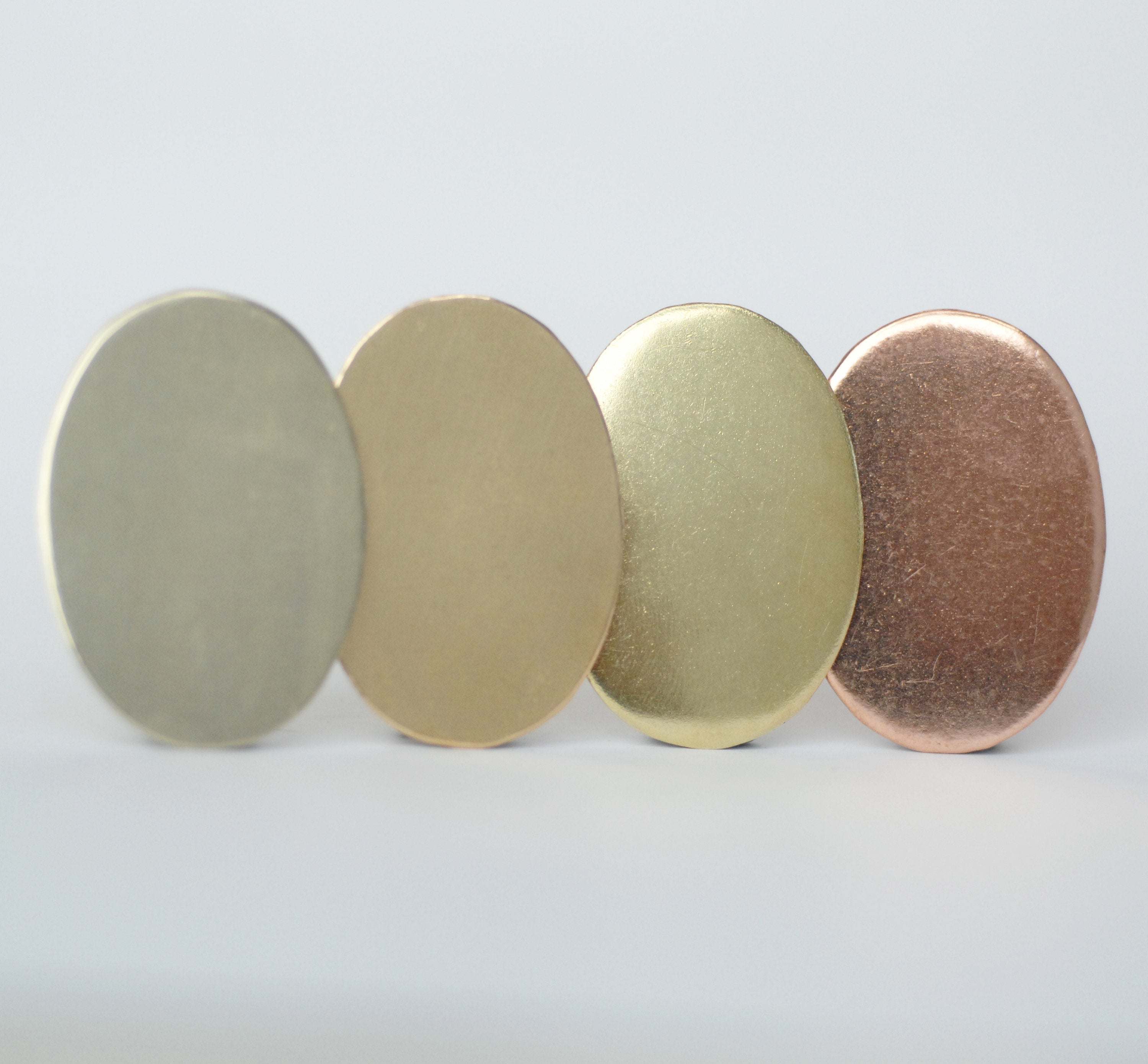 Oval shape 27mm x 38mm metal blanks for making jewelry