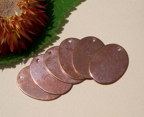 Buy Copper Ovals Blanks 21mm x 16mm 24g Oval Shape for Enameling Stamping Texturing Blanks online