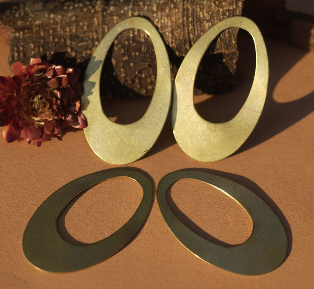 Buy Brass Teardrop 56mm x 34mm Shap 24g Cutout Blank for Stamping, Metalworking,Texturing, Soldering Blanks online
