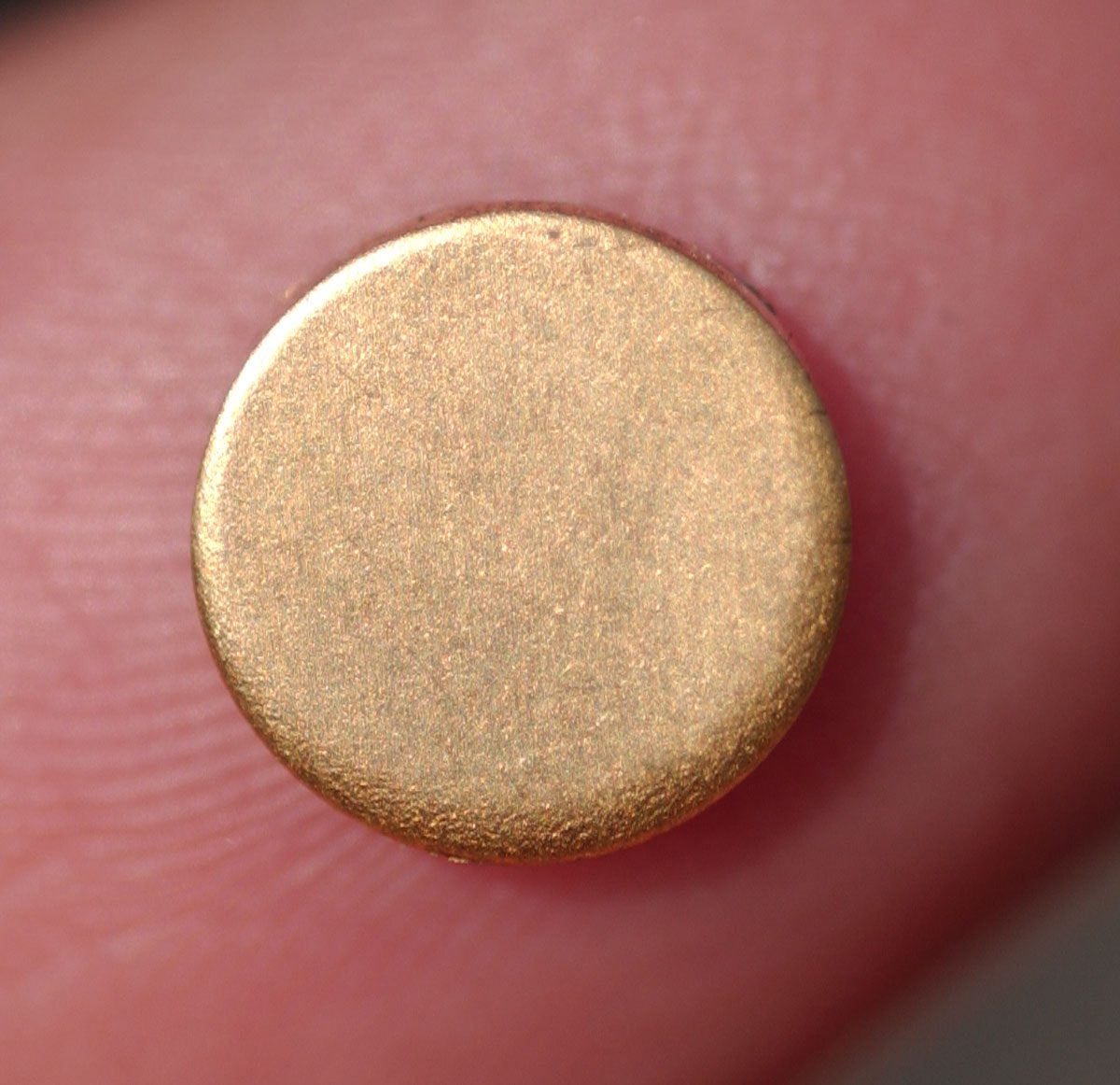 Buy 7mm Circle Variety of Metal Disc Blank 20g Circle Cutout for Soldering Stamping Texturing Blanks - 14 Pieces online